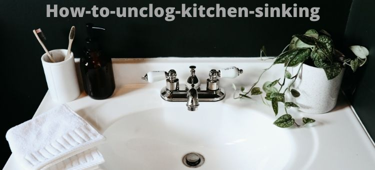 How-to-unclog-kitchen-sink